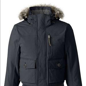 Lands End Winter bomber coat
